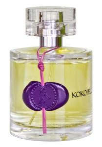 "Parfüm Vegan ""Greendoor Eau de Parfum Kokopelli N°1, Bio Parfüm aus der Naturkosmetik Manufaktur, floral, 50ml handgesiegelter Flakon mit Lederband"""